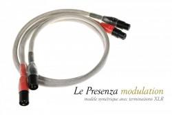 Presenza modulation XLR