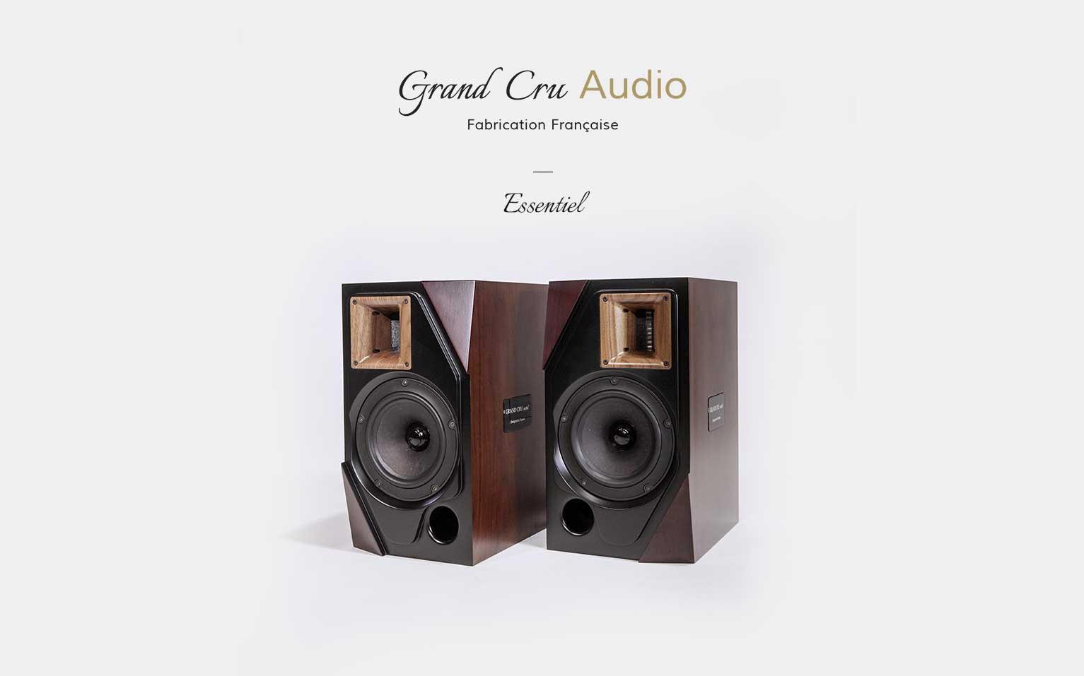 Grand cru Audio Essentiel - Enceinte hifi bibliothèque